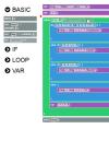 ビジュアルプログラミングを 実現するJavascriptライブラリ