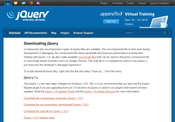 jQuery-download