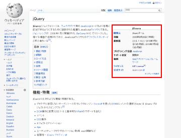 jQuery-wikipedia